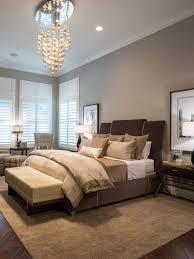 Elegant bedroom decor - chocolate brown, black, sage and gray.