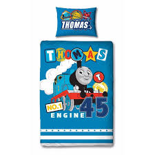 thomas and friends patch single duvet cover set polycotton front