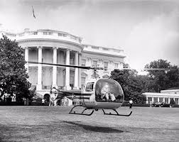 Image result for 1957  Dwight D. Eisenhower becomes the first president to ride in the newest advance in aviation technology: the helicopter.