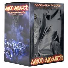 Amon Amarth Deceiver of the gods 2 CD Bust Box Set Limited.