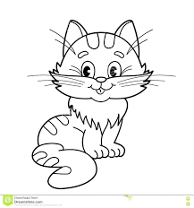 Printable Charming Coloring Pages Cats To Print S Entry Level Free