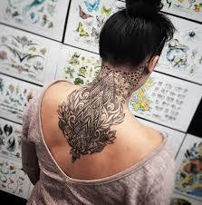 Kaelin Chee Tattoo Nape Back Piece тату на затылке сзади