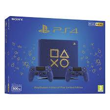 Máy Chơi Game PlayStation Sony PS4 Slim 500GB Days Of Play Limited Edition  - Hàng Chính Hãng - PlayStation