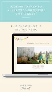Collections Of Wedding Website The Knot Wedding Ideas