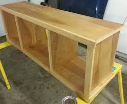 Do It Yourself TV Entertainment Stand_7