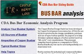 Busbar Ampacity Chart Innovations Copper Busbar Sizing Guide