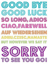 Free Farewell Card Template Impressive Good Luck Card Templates Free Cute Good Luck Card Farewell New Job