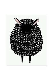 black sheep graphic limited edition art print by hey paper moon pinterest black sheep wall art prints and art prints on black sheep wall art with black sheep graphic limited edition art print by hey paper moon