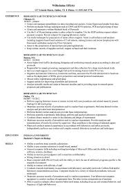 Lab Technician Resume Sample Research Lab Technician Resume Samples Velvet Jobs 20