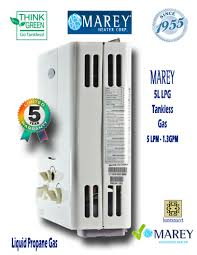 tiny house water heater. Marey GA5L LPG Propane 1.3 GPM Tiny House Water Heater