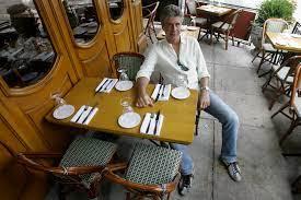 globetrotting foodie Bourdain ...
