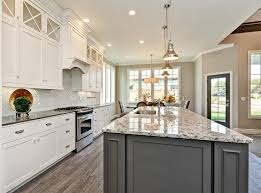 Of White Kitchens White Kitchen With Island Kitchen Islands Decoration