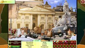 You will be given a list and be in a scene with many items. Hidden Object Games Without Stories