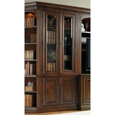 furniture european renaissance ii glass door bookcase in cherry