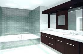 modern built in bathtubs drop bathtub ideas contemporary bathroom vanity with brown wooden cabinet also oval drop in bathtub ideas designs bathroom