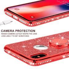 Flip Cases Electronics LEECOCO Samsung S10 Plus Case Glitter ...