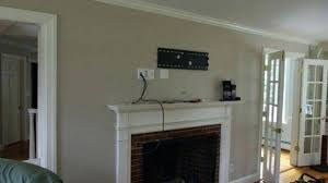 how high to mount tv gas fireplace fire