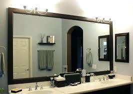 bathroom mirror frame tile. Interesting Tile Wooden Framed Bathroom Mirror Tile  Wood With Bathroom Mirror Frame Tile