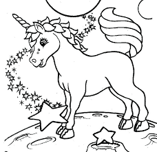 Unicorn Coloring Pages Printable Printable Unicorn Coloring Pages