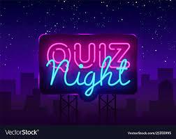 Designer Trivia Quiz Night Announcement Poster Design