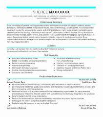 Lvn Resume Example Kaiser Permanente Medical Center Citrus