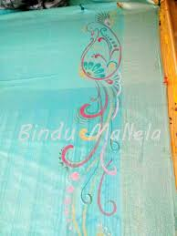 simple mural painting designs on sarees by avanthika murals on kerala mural saree rhcouk painting