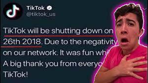 Tik Tok is Shutting Down FOREVER ...
