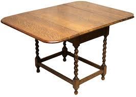 Drop Leaf Dining Table Oak Drop Leaf Dining Table On Barley Twist Legs Loveantiquescom