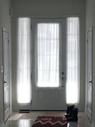 curtains over front door window door inspirations door ideas sheers for both the front door glass