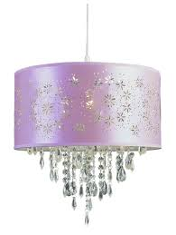 Home Decoration: Lovely Drum Purple Light Shade Design With Beautiful  Hanging Purple Lamp - Purple