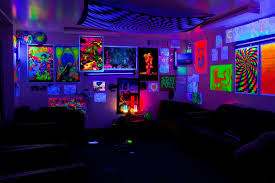 Blacklight Bedroom Ideas 3