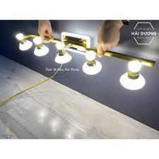 Đèn soi tranh - Đèn rọi gương Led 5 Đèn chiếu sáng 7475-5 - Điều chỉnh góc  chiếu - 3 Chế độ ánh sáng - Đèn trang trí