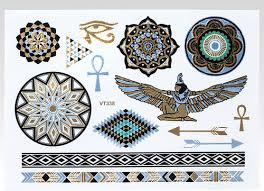 Wayfarer Metalické Tetování Egypt Glamicz