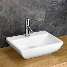 rectangular curved massa bathroom basin