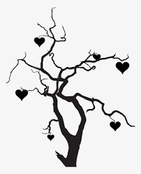 Free transparent halloween dead tree vectors and icons in svg format. Clipart Heart Tree Halloween Tree Silhouette Png Transparent Png 768x1024 Free Download On Nicepng