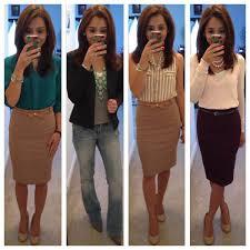office wardrobe ideas. September Favorites, Office Outfits Ideas I Like The Khaki On Stripes Wardrobe F