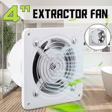 4 Inch 25 W Auspuff Fan 220 V Fenster Typ Schweigen Wand Dunst