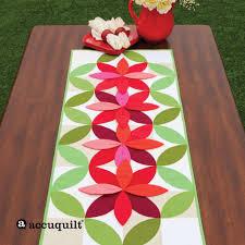 AccuQuilt : AccuQuilt & GO! Bloom Table Runner Adamdwight.com