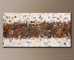 brown and grey canvas wall art