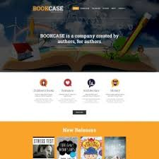 book publishing templates publishing company website templates