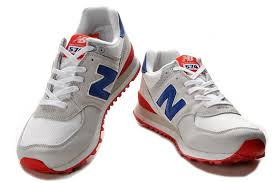 new balance shoes red and blue. new balance nb ml574cvy classic grey blue red for men shoes and u