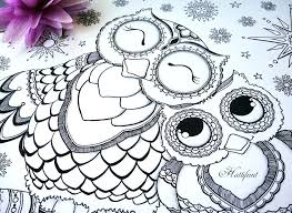 Owl Design Coloring Pages Design Coloring Page Design Coloring Books