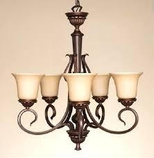 portfolio 5 light chandelier 1 of portfolio 5 light oil rubbed bronze tinted glass shaded portfolio 5 light chandelier