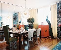 Elegant Glossy Orange Buffet