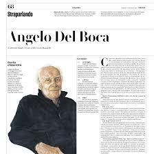 materialismo storico: Gnoli intervista Angelo Del Boca