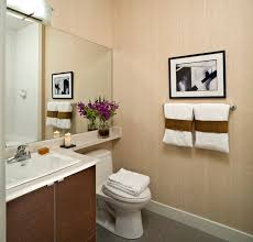 Choose Soft Color Schemes to Open Up Your Small Bathroom