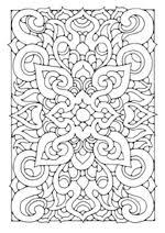 Rechthoekige Mandalas Kleurplaten Voor Volwassenen