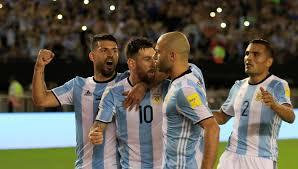 Resultado de imagen para la Selección de fútbol argentina.