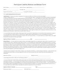 Liability Waiver Form Template 24 Images Of Sports Liability Waiver Form Template Leseriail 16