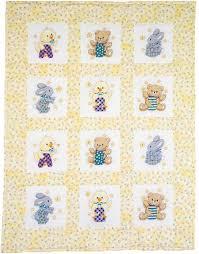Janlynn ABC 123 Quilt Blocks - St&ed Cross Stitch Kit 021-1368 ... & ABC 123 Quilt Blocks - Stamped Cross Stitch Kit Adamdwight.com